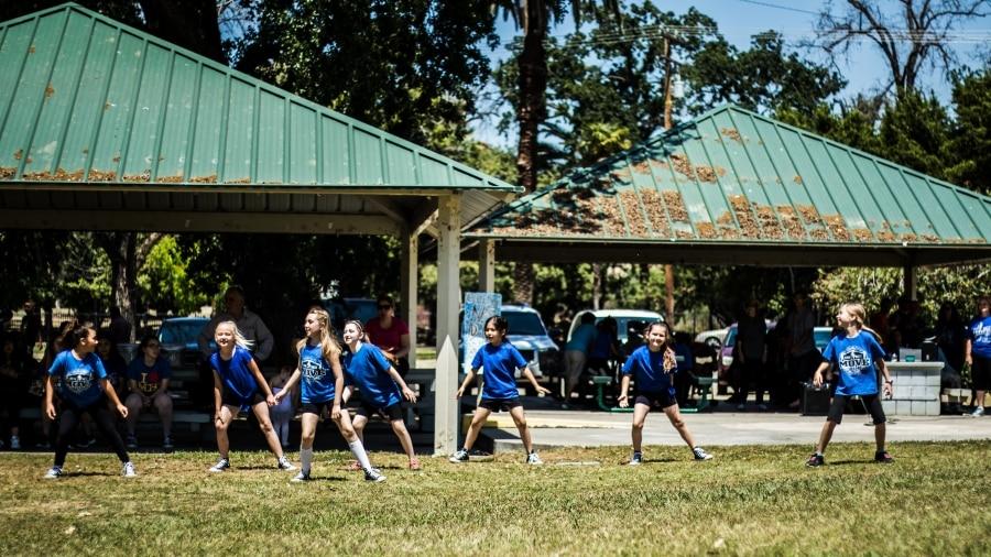 National Dance Week Flash Mob